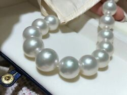 Immaculate & best of all 15.3-18.3mm Australian south sea pearl necklace booking