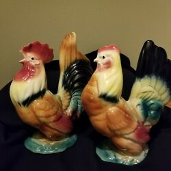 Midcentury Royal Windsor Copley Rooster And Hen