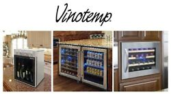 Vinotemp - Wine Coolers Beverage Coolers Ice Makers Outdoor Fridges Drawers