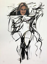 Mel Ramos I Get A Thrill When I See Bill Number Signed Lithograph 1979