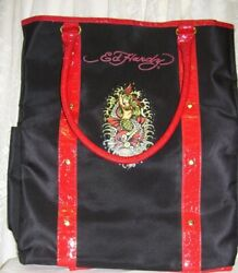 Ed Hardy Tote Bag with Mermaid Design