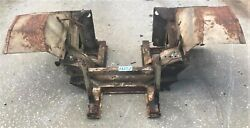 Used Oem ... '62 - '79 Mg Midget / A/h Sprite Front Frame W/ Wheel Arches  H257