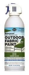 Olive Outdoor Fabric Paint - 3 Cans 13.3 Oz Cans