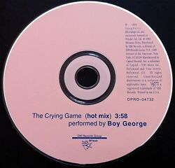 BOY GEORGE The Crying Game HOT MIX *RARE USA PROMO CD PET SHOP BOYS Culture Club