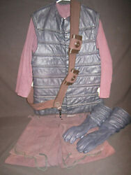Planet of the Apes Gorilla Soldier Costume Hero Prop 1968 Rare Equestrian Vest