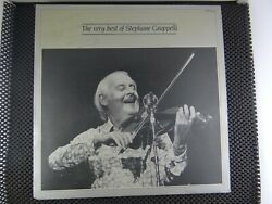 The Very Best Of Standeacutephane Grappelli Picc-a-dilly Andlrmandndash Pic 3525 Signed