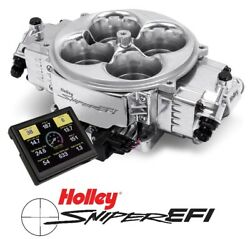 Holley Sniper Efi 550-841 Fuel Injection System Stealth 4500 Shiny 800-1500hp