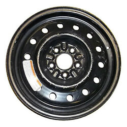 03153 Factory, OEM Reconditioned Steel wheel 16 X 4;  Black Full Face Painted