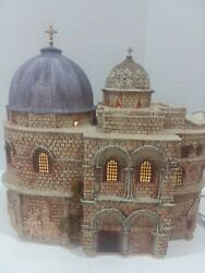 Dept 56 Holy Land Church Of The Holy Sepulcher Easter Story Village Christmas