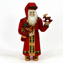 Midwest Of Cannon Falls Woodland Santa 7.5 Figurine Father Christmas Toys