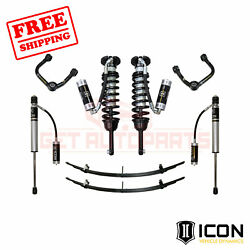 Icon 0-2.75 Suspension System - Stage 4 W/tubular Uca For Toyota Tacoma 2005-14