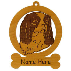 Cavalier King Charles Ornament 082085 Personalized With Your Dogand039s Name