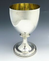 Fine Antique 1807 George Iii Sterling Silver Wine Goblet Robert And Samuel Hennell