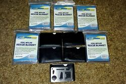 5 Multi Tools And 5 Emergency Survival Blankets. Bug Out Bag Supplies