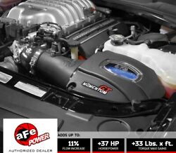 Afe 52-72204 Momentum Gt Cold Air Intake 2015-2016 Dodge Challenger Hellcat 6.2l