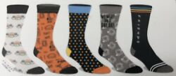 Friends Mens 5 Pair 5 Pack Casual Crew Socks Shoe Size 8-12 Gift TV Show