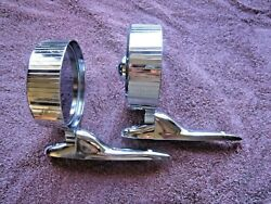 Vintage Nos Pair Joma 901 Side Mirrors, Chevrolet, Ford, Dodge, Rat Rod Hot Rod