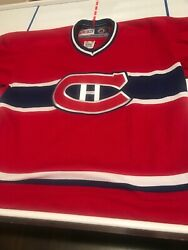 Montreal Canadiens Vintage Ccm Jersey Youth L/xl
