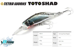 Duo Tetra Works Toto Shad 48s Hard Lures Spinning Lrf Light Fishing Japan