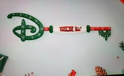 Disney Store Limited Edition Mickeyand039s Holiday Express Christmas Collectible Key