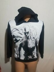 Jdly One Punch Man. Hoodie. Tag In Asian Lettering Size Is L. Meas. In Photos