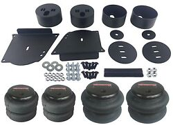 Front And Rear Air Bags And Brackets Air Ride Suspension For 64-72 Chevelle A Body