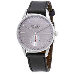 Nomos Orion Neomatik 39 Automatic Rhodium-plated Dial Menand039s Watch 342