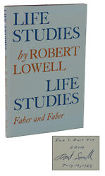 Life Studies Robert Lowell Signed First Uk Edition 1959 National Book Award