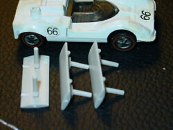 Hot Wheels Redline CHAPARRAL 2G REPRO WING REPRODUCTION Off White 3x DEAL