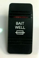 Baitwell Switch Console / Dash Cover For Boat / Marine