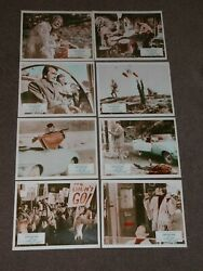 Explosion 1969 Uk Lobby Card Set Of 8 Don Stroud/michele Chicoine