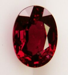 Natural Colour Ruby 1.15ct Expertly Faceted In Germany +certificate Available