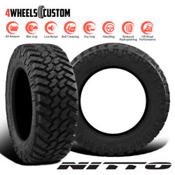 2 X New Nitto Trail Grappler MT 3813.522 126Q Off-Road Traction Tire