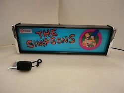 The Simpsons Marquee Game/rec Room Led Display Light Box