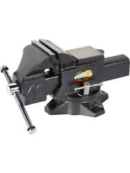 Woodward Fab Vise Bench 4 In Jaw Handle / Pin Included Bench Mounted I… Wfv4.0