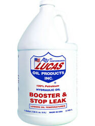 Lucas Oil Hydraulic Oil Additive Booster And Stop Leak 1 Gal Set Of 4 10018
