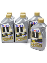 Mobil 1 Motor Oil Extended Performance 5w30 Synthetic 1 Qt Set Of 6 112627