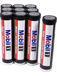 Mobil 1 Grease - Synthetic - 13.4 Oz Cartridge - Set Of 10 121071