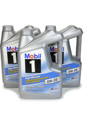 Mobil 1 Motor Oil - High Mileage - 5w20 - Synthetic - 5 Qt - Set Of 3 120768