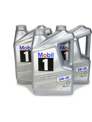 Mobil 1 Motor Oil Advanced Full Synthetic 5w30 Synthetic 5 Qt Set Of 3 124317