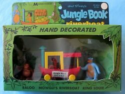 Jungle Book Riverboat Playset - Disney - Multiple Toymakers - 1968 - Boxed