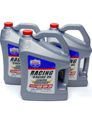 Lucas Oil Motor Oil Junior Dragster Racing Oil 5w20 Synthetic 5 Qt Set Andhellip 10471