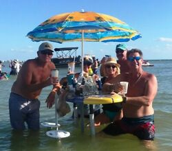 Deluxe Swim-up Bar For Sandbar, Bay Or Beach Party Like A Pro On The Water