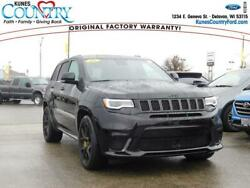 2018 Jeep Grand Cherokee Trackhawk 4x4 *Ltd Avail* 2018 Jeep Grand Cherokee Trackhawk 4x4 *Ltd Avail* Diamond Black Crystal PC Spo