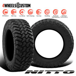 2 X New Nitto Trail Grappler MT 3713.522 123Q Off-Road Traction Tire