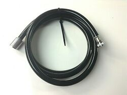 Scandvik Replacement 6and039 Black Nylon Hose For Straight Sprayer Handles 10292 3