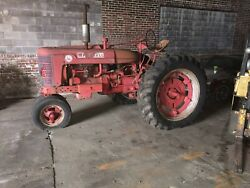 1949 Farmall Model M By International Harvester For Restoration--parts Only