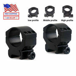 30mm Scope Rings Low/middle/high Profile Markweaver Picatinny Mount Shock Proof