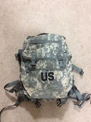 New Molle Core Rifleman Pack Set, Acu Pattern, Nsn 8465-01-525-0578 For Us Army