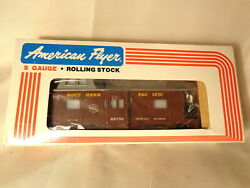 American Flyer 6-48700 Southern Pacific Bay Window Caboose / Bx/ S Gauge /